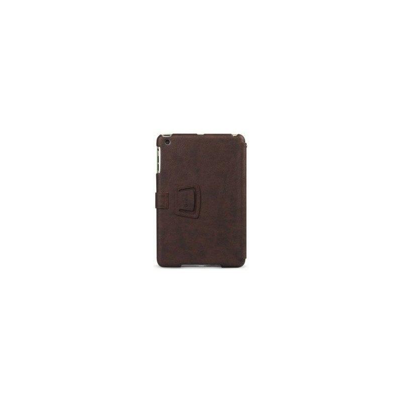 Кожаный чехол Zenus Masstige Folio для Apple iPad Mini Black Chocolate