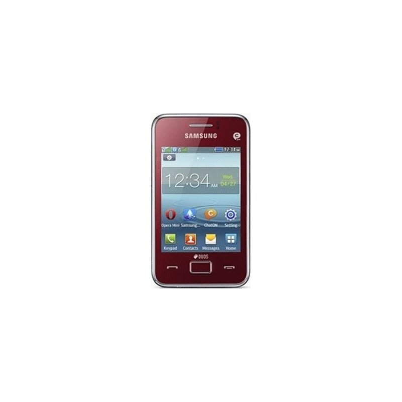 Samsung S5222 Star 3 Duos Flamingo Red