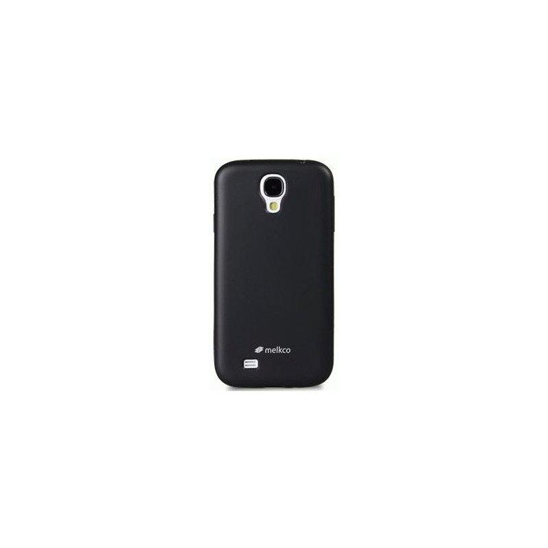 TPU накладка Melkco Poly Jacket для Samsung Galaxy S4 i9500 Black