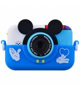 Детская фотокамера Baby Photo Camera Mickey Mouse (Blue)