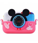 Детская фотокамера Baby Photo Camera Mickey Mouse (Pink)