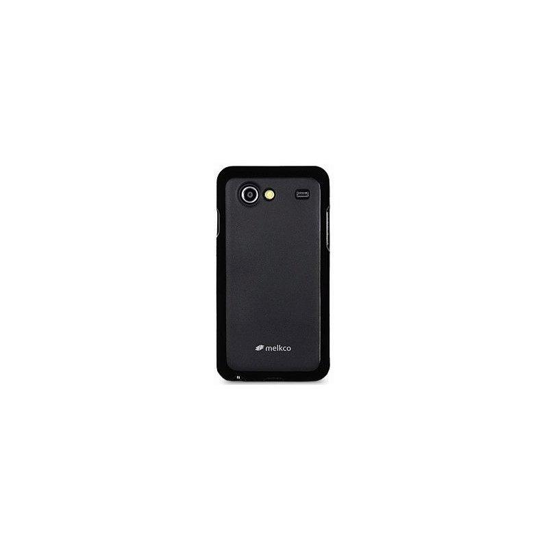 TPU накладка Melkco Poly Jacket для Samsung Galaxy S Advance i9070 Black