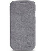 Кожаный чехол Nillkin Fashion series для Samsung Galaxy S4 i9500 Grey