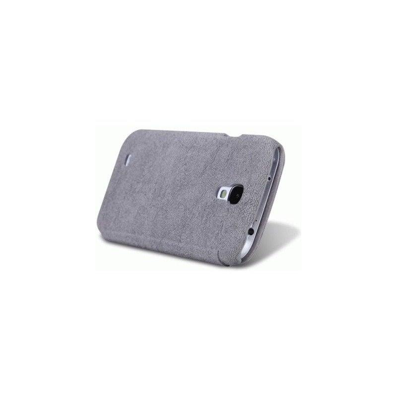 Кожаный чехол Nillkin Fashion series для Samsung Galaxy S4 i9500 Grey