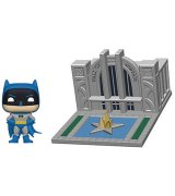 Коллекционная фигурка Funko POP! Town Batman 80th Hall of Justice w/Batman (44469)