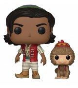 Коллекционная фигурка Funko POP! Disney: Aladdin w/Abu (37022) (FUN2060)