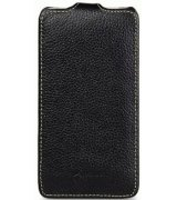 Кожаный чехол Melkco Flip (JT) для HTC One 801e Black