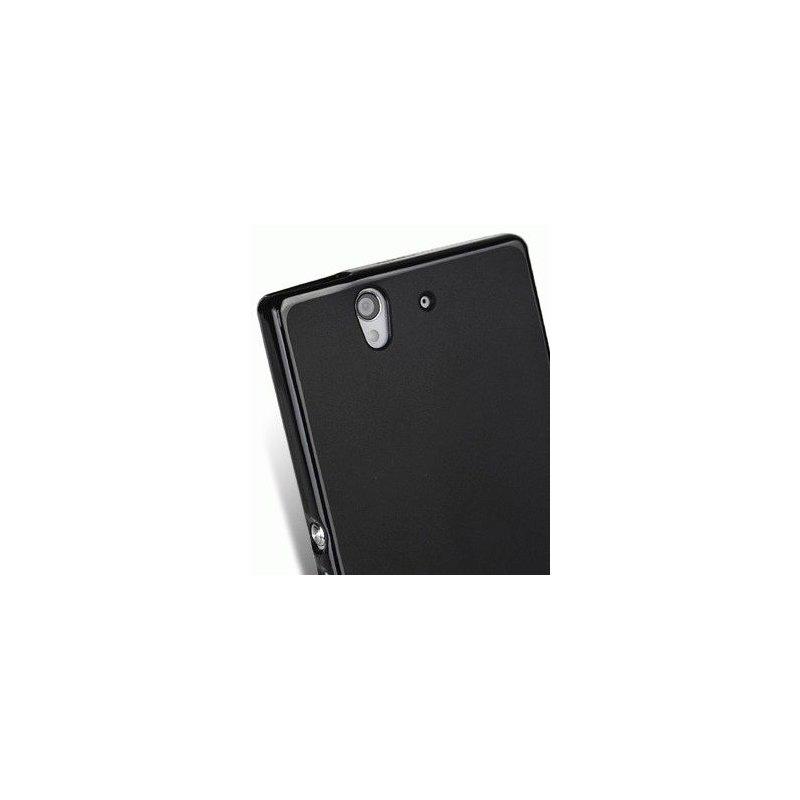 TPU накладка Melkco Poly Jacket для Sony Xperia Z L36i Black
