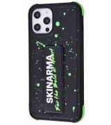 Чехол SkinArma Funsha Series (PC+TPU) для Apple IPhone 12/12 Pro Green