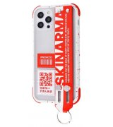 Чехол SkinArma Dotto Series (PC+TPU) для Apple iPhone 12 Pro Max Red