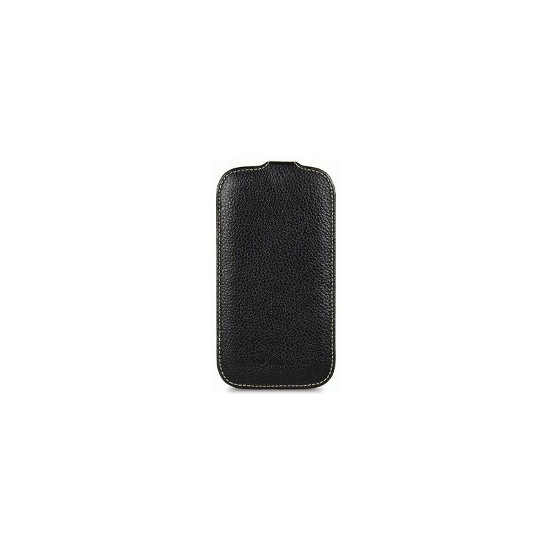 Кожаный чехол Melkco Flip (JT) для Samsung Galaxy S4 i9500 Black