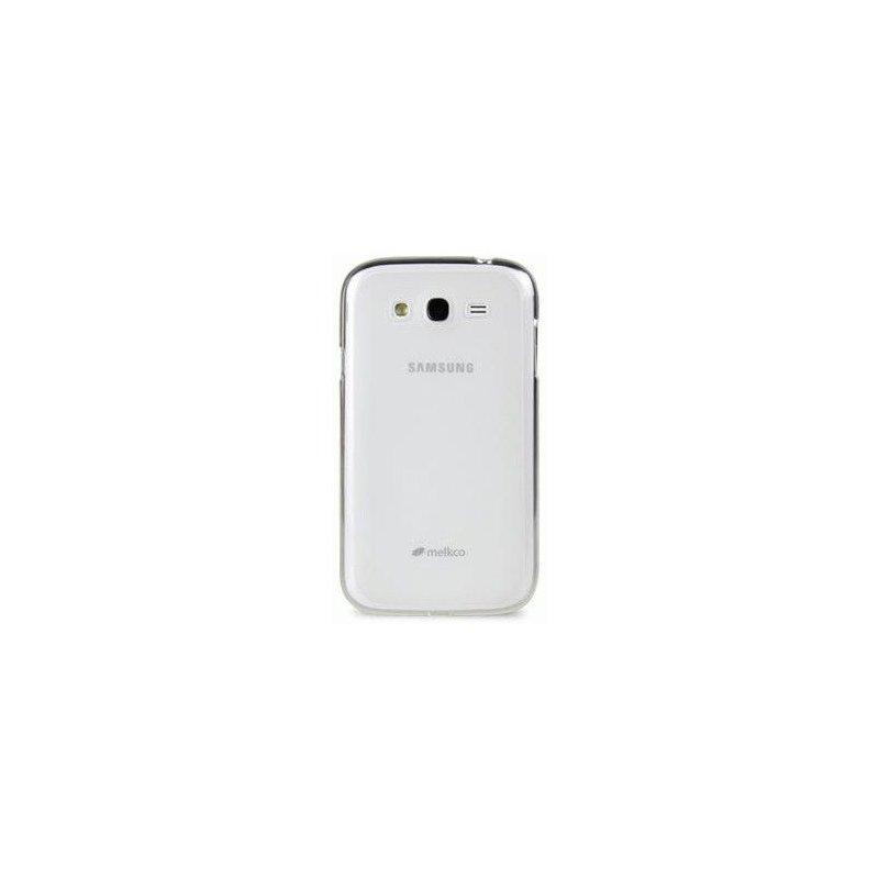 TPU накладка Melkco Poly Jacket для Samsung Galaxy Grand Duos i9082 White