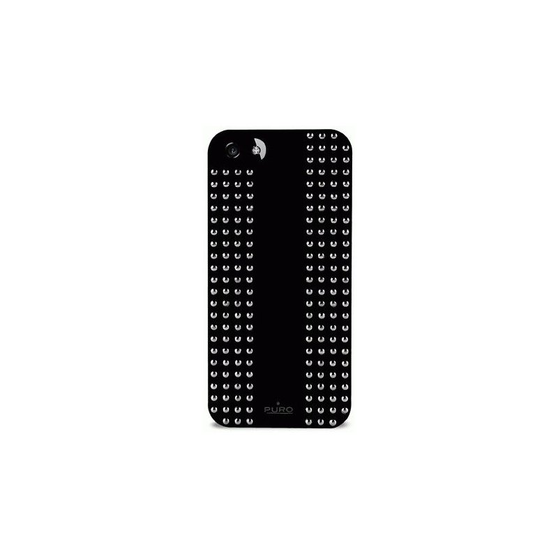 Puro Rock 1 Cover накладка для Apple iPhone 5 Black