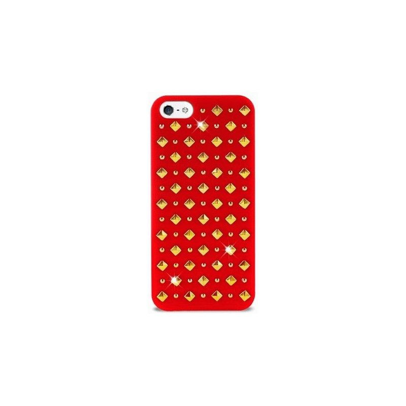 Puro Rock 2 Cover накладка для Apple iPhone 5 Red