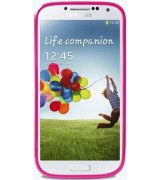Puro Clear Cover накладка для Samsung Galaxy S4 i9500 Pink