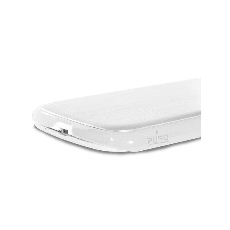 Puro Metal Cover накладка для Samsung Galaxy S4 i9500 White