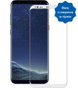 Защитное стекло 3D для Galaxy S8 White