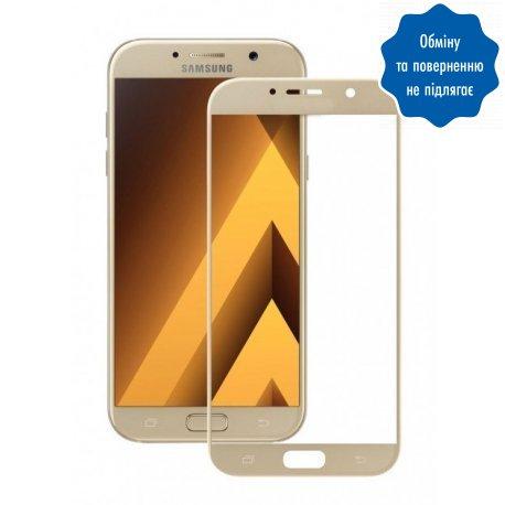 Защитное стекло 3D для Samsung Galaxy A5 2017 (A520) Rose Gold