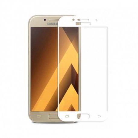 Защитное стекло 3D для Samsung Galaxy A3 2017 (A320) White