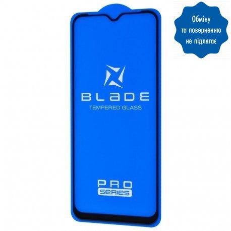 Защитное стекло Blade Pro Full Glue для Xiaomi Redmi 9/9a Black