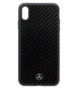 Чехол Mercedes для Apple iPhone XS Max Black
