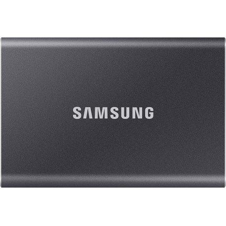 SSD накопитель внешний Samsung T7 500GB USB 3.2 Gen 2 Type-C Titan Gray (MU-PC500T/WW)