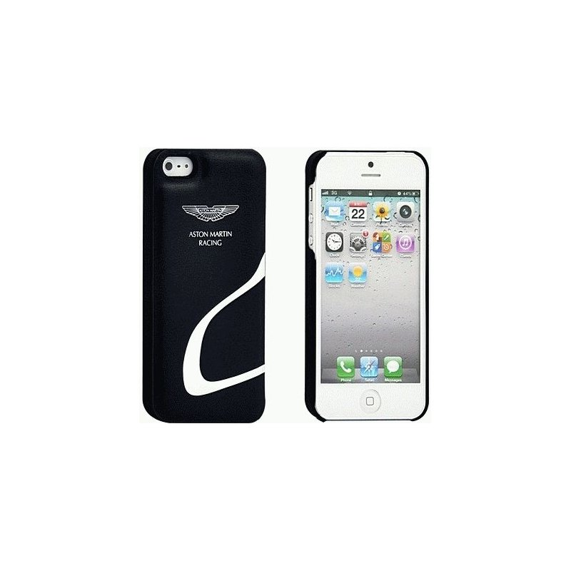 Накладка Aston Martin Racing для iPhone 5 Blue-White