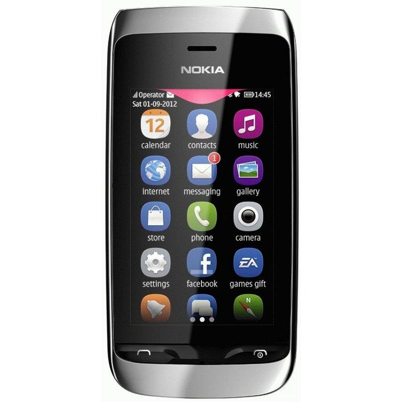 Nokia Asha 310 Dual Sim White