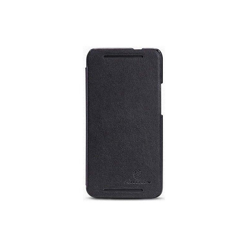Кожаный чехол Nillkin Book для HTC One 801e Black