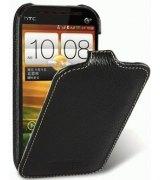 Кожаный чехол Melkco Flip (JT) для HTC Desire SV T326e Black