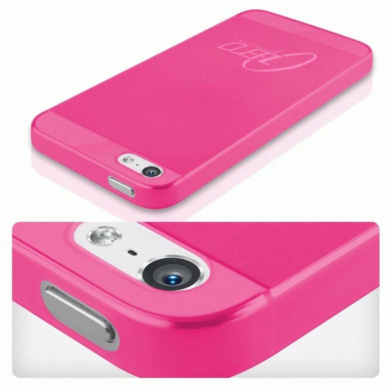 Накладка ITSkins Zero.3 для Apple iPhone 5 Pink