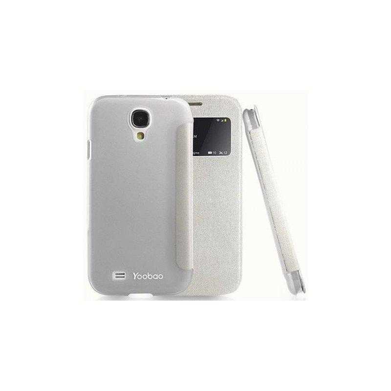 Yoobao Slim II Leather Case для Samsung Galaxy S4 i9500 White