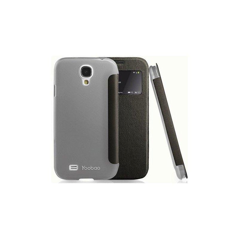 Yoobao Slim II Leather Case для Samsung Galaxy S4 i9500 Black