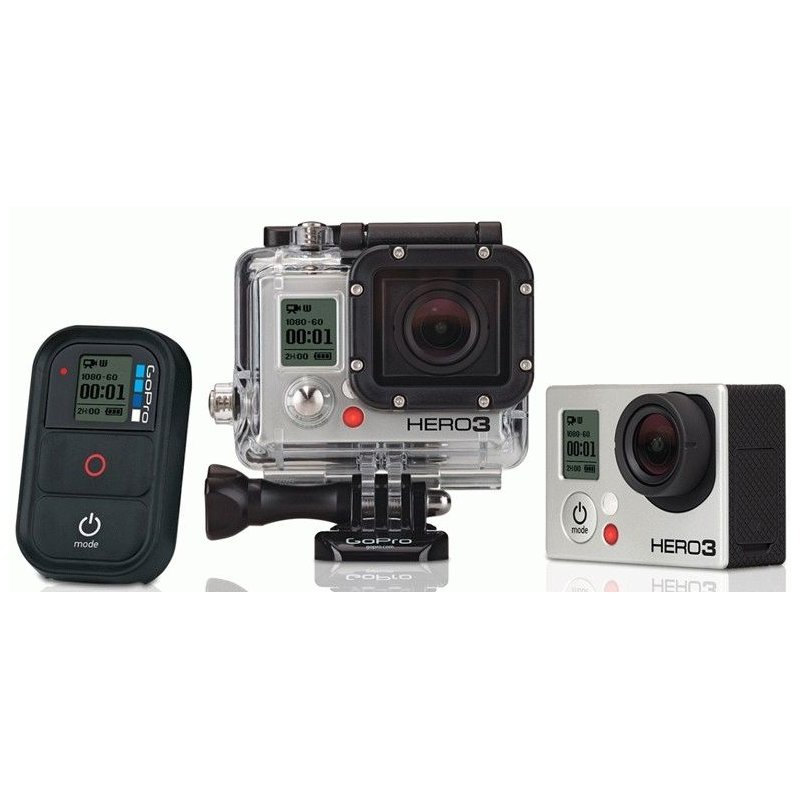 Видеокамера GoPro HD HERO3 Black Edition (CHDHX-301)