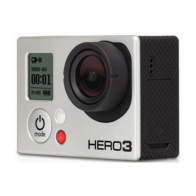 Видеокамера GoPro HD HERO3 Silver Edition (CHDHN-301)