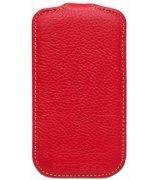 Кожаный чехол Melkco Flip (JT) для HTC Desire SV T326e Red