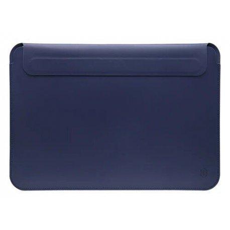 Чехол WIWU Skin MacBook Air/Pro 13 2018 Pro PU Leather Sleeve Space Gray