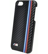 CG MOBILE BMW Hard Case Rubber Finish  накладка для iPhone 5 (BMHCP5MC) Carbon