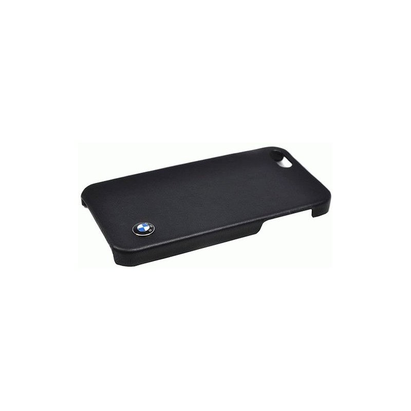 CG MOBILE BMW Leather Hard Case накладка для iPhone 5 (BMHCP5LB) Black