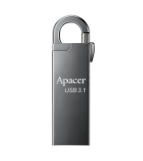 Флеш накопитель Apacer 128GB USB 3.1 AH15А Ashy (AP128GAH15AA-1)