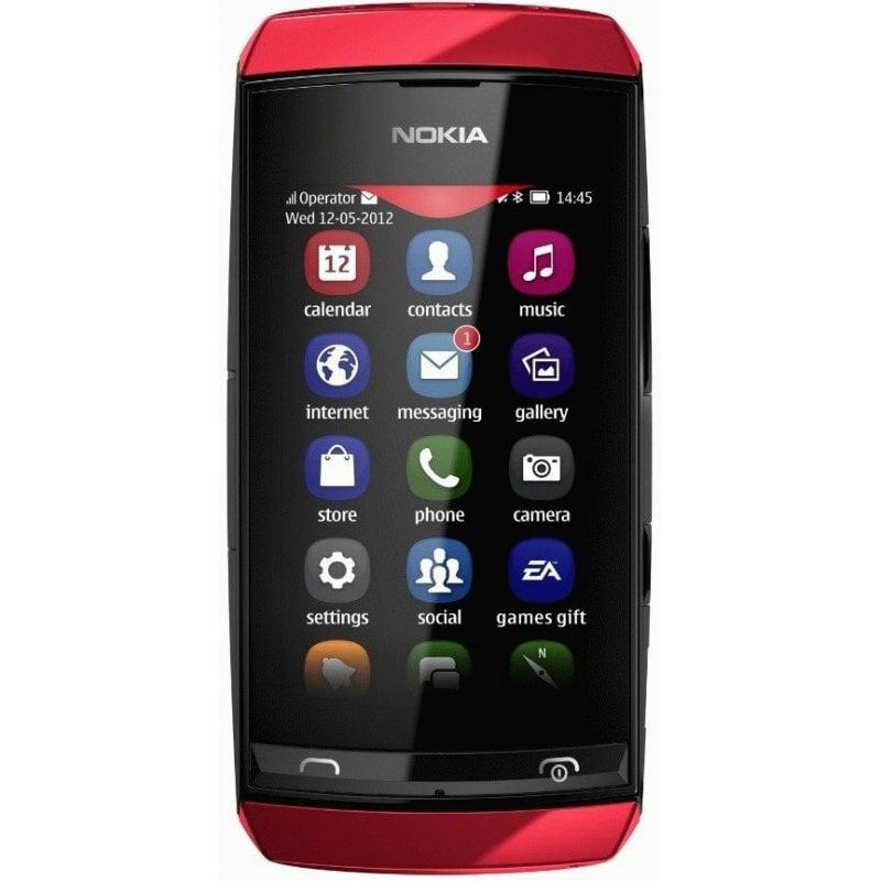 Nokia Asha 305 Red