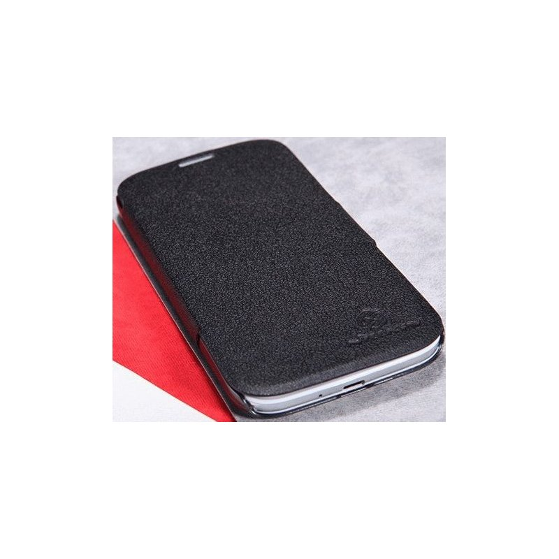 Кожаный чехол Nillkin Fresh для Samsung Galaxy S4 i9500 Black