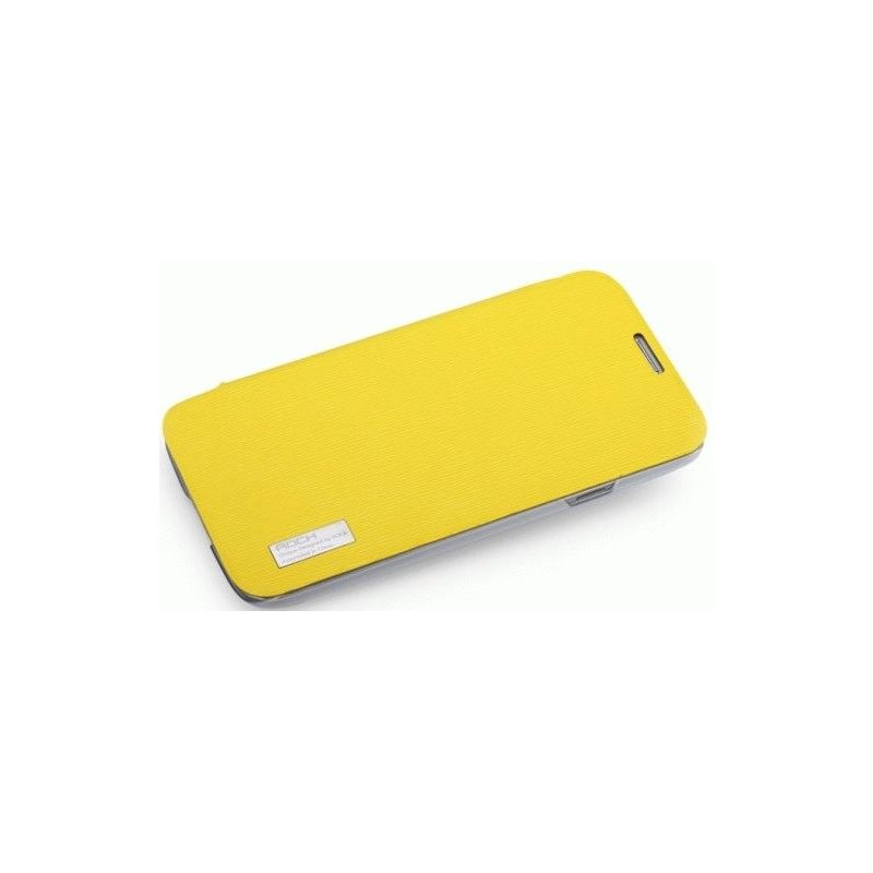 Чехол Rock Elegant Series Leather Flip Case Cover для Samsung Galaxy Mega 5.8 I9152 Yellow