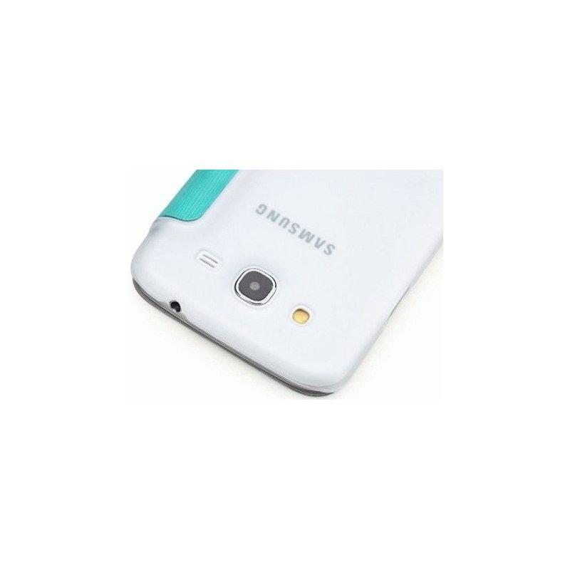 Чехол Rock Elegant Series Leather Flip Case Cover для Samsung Galaxy Mega 5.8 I9152 Azure