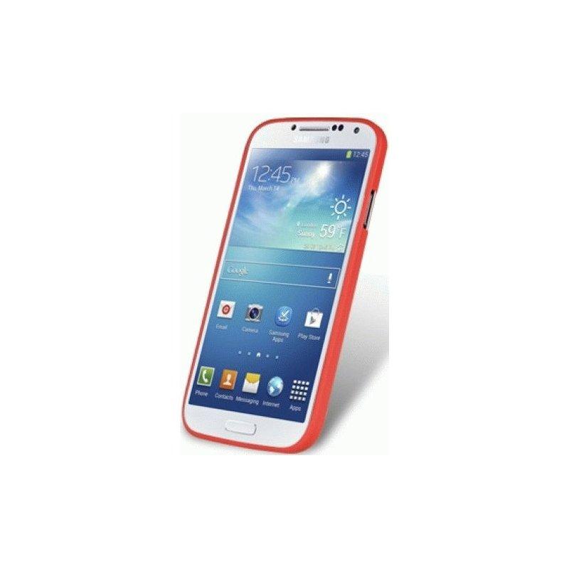 Накладка Melkco Air TPU Cases 0.5mm для Samsung Galaxy S4 I9500 Red