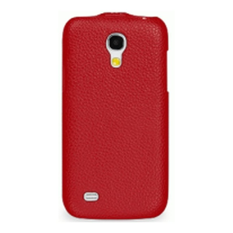 Кожаный чехол Tetded Flip для Samsung Galaxy S4 Mini Duos I9192 Red