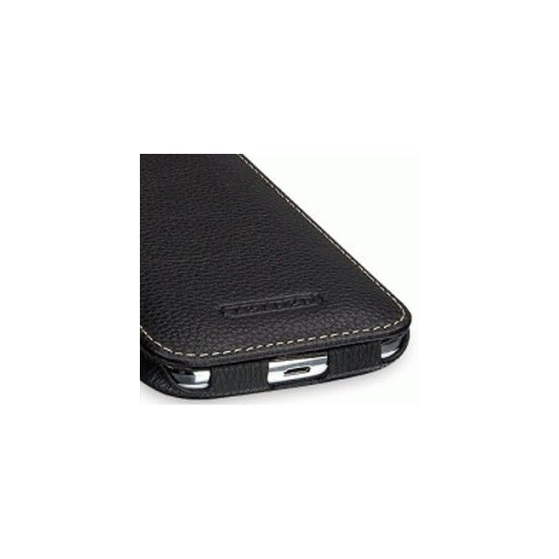 Кожаный чехол Tetded Flip для Samsung Galaxy Win I8552 Black