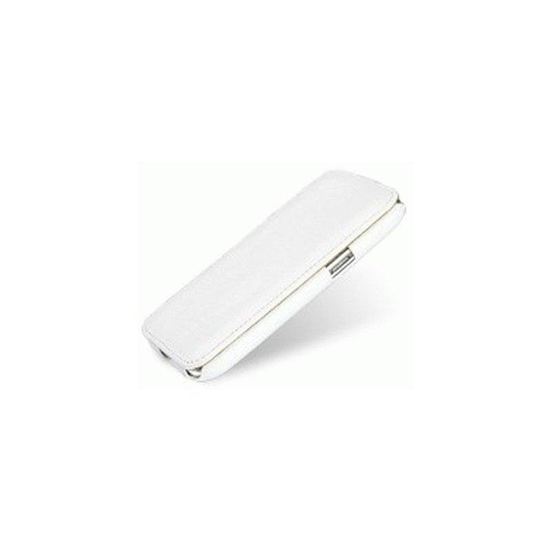 Кожаный чехол Tetded Flip для Samsung Galaxy Win I8552 White