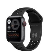 Apple Watch Nike Series 6 40mm (GPS+LTE) Space Gray Aluminum Case with Anthracite/Black Nike Sport Band (M06L3/M07E3)