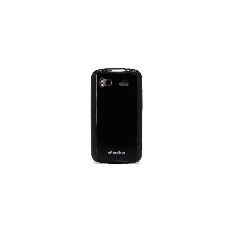 TPU накладка Melkco Poly Jacket для HTC Sensation Z710e/Z715e XE Black